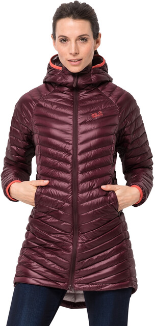 Jack Wolfskin Atmosphere Manteau Femme, fall red